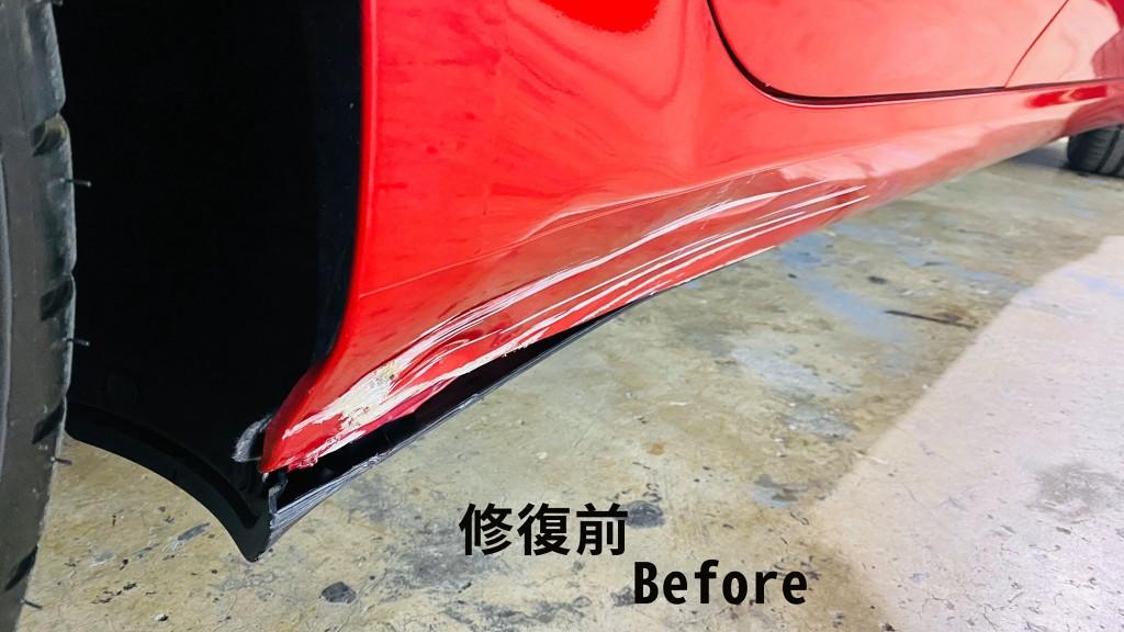 model 3 鈑金修復