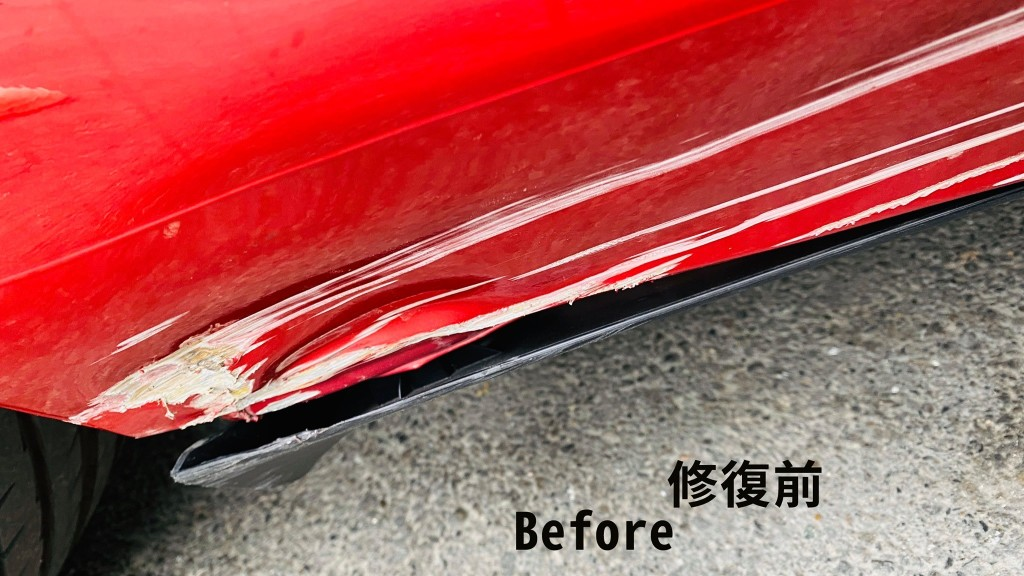 【TEC 特斯拉Model 3 鈑金修復案例】